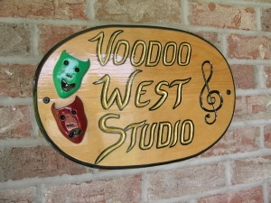 Voodoo West Sign 7 08 004